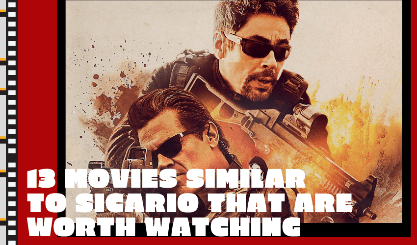 The Best 13 Movies Similar to Sicario that Are Worth Watching